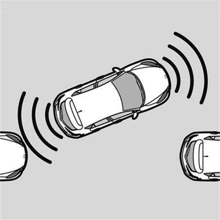 Capteurs d'aide au stationnement arrière