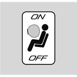 Commutateur de désactivation d'airbag passager