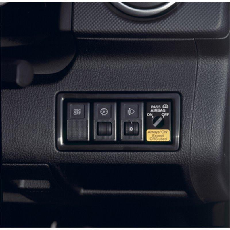 Habillage du contacteur de désactivation d'airbag