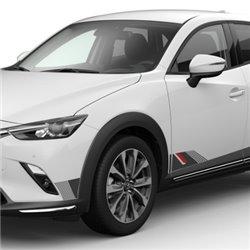 Kit de décalcomanie côté Mazda