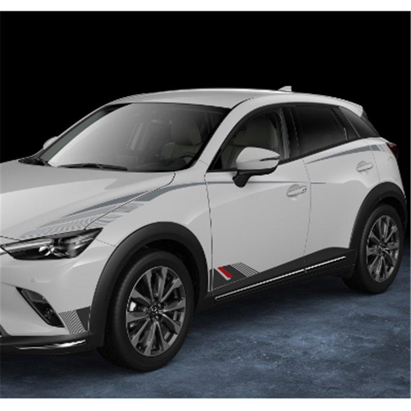 Kit de décalcomanie côté zone haute Mazda